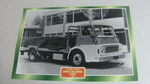 Dodge 500 Series KL600 1966 Truck framed picture